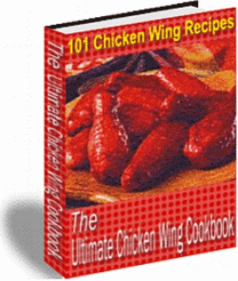Product picture  Chicken Wing Recipes, The Ultimate Chicken Wing Cookbook