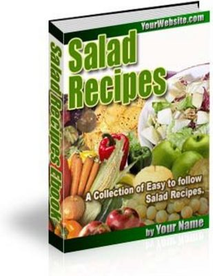 Product picture Salad Dishes, Salad Recipes eBook